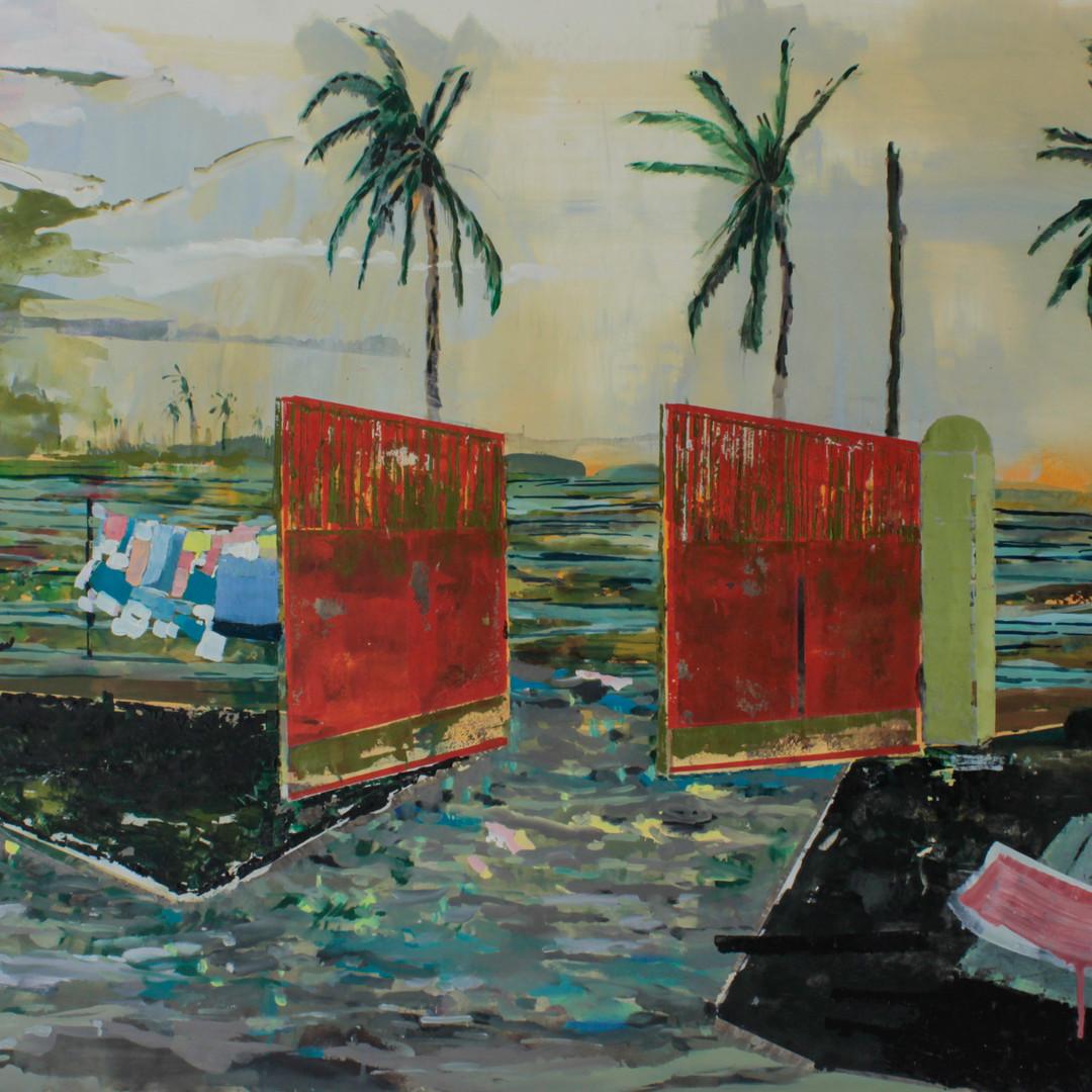 Tropiques (Paysage tropical dévasté)