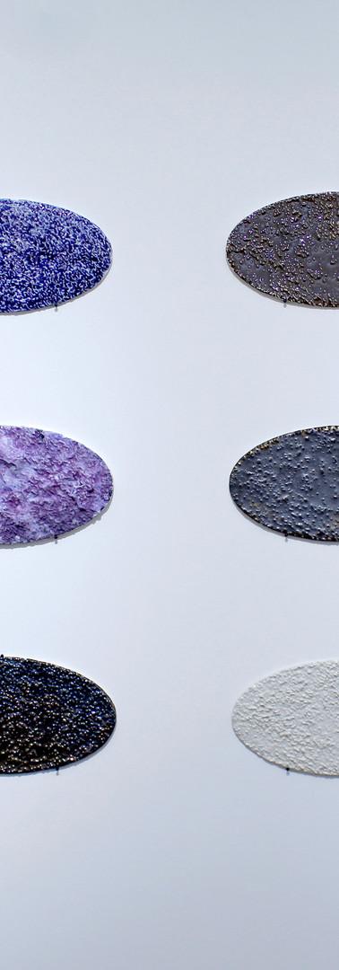 Vue de l'exposition A Cultural Interpretation of Stone.