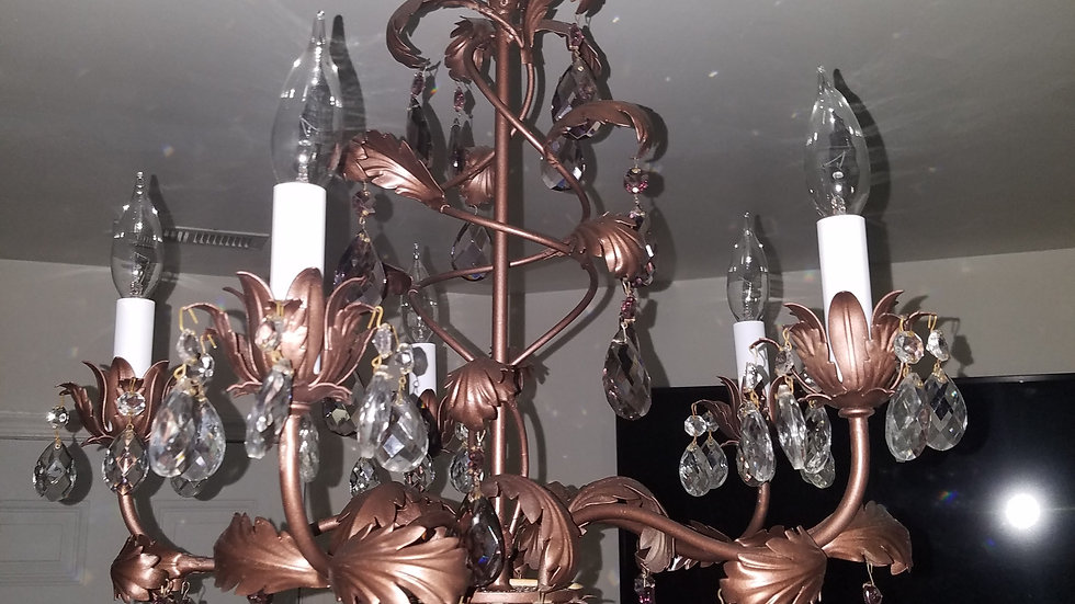 Antique Restored Chandelier