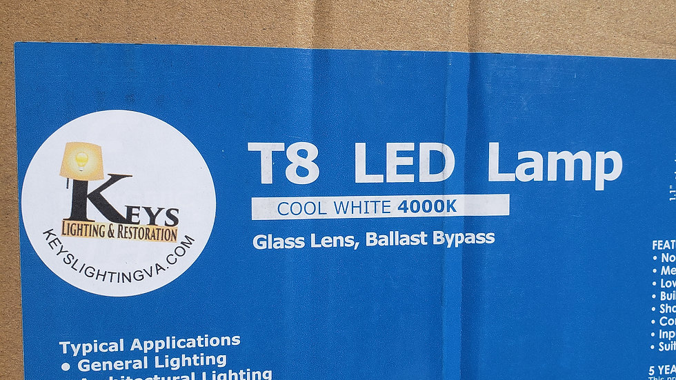 T8 LED Tube Light 20 pack