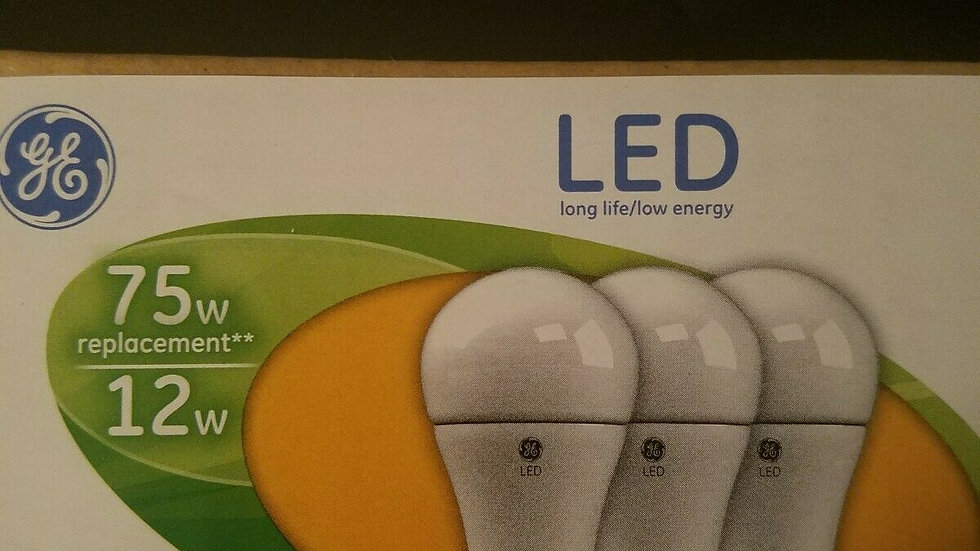 3 pack 75 Watt LED Bulb Dimmable