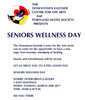Seniors Wellness Day - Tuesday,March 28th