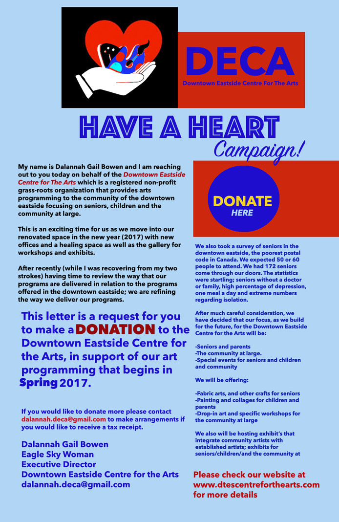 Have A Heart: DECA Donation Campaign!