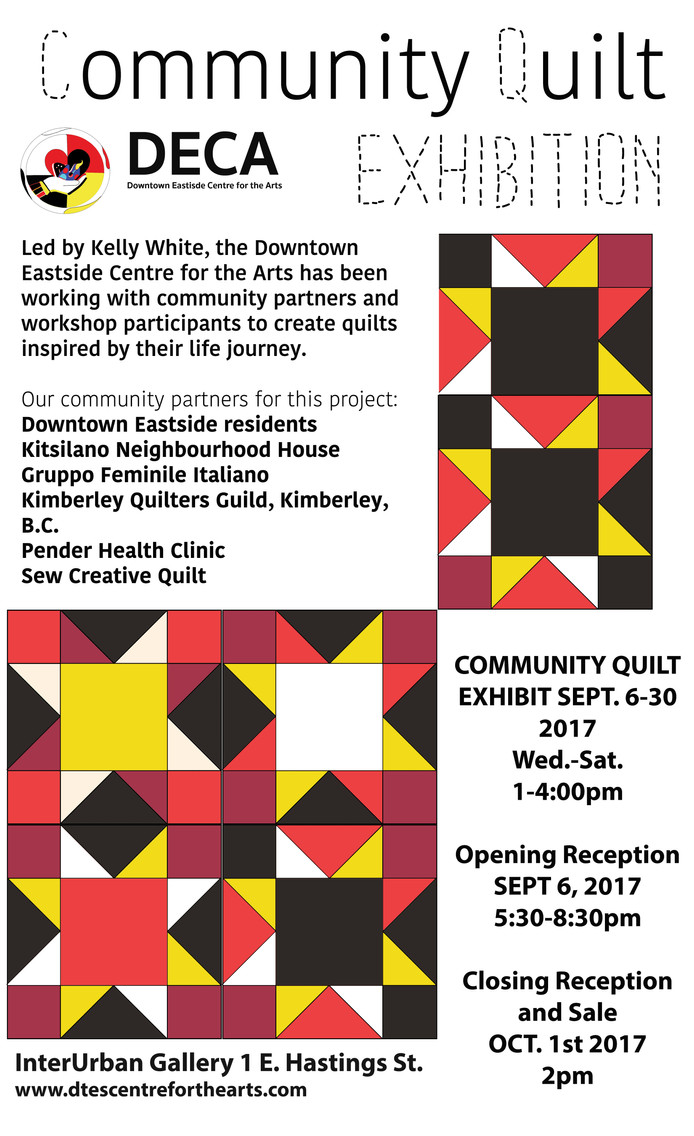 Community Quilt Exhibition Closing