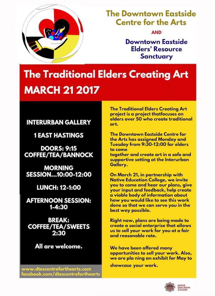 Traditional Elders Creating Art