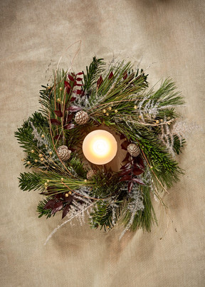 Virtual wreath workshops