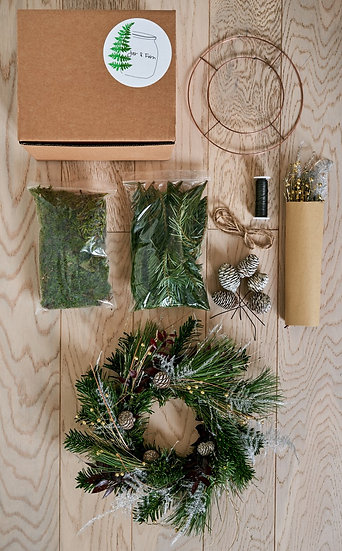 Private ITV DIY Festive Wreath kit - 15th Dec workshop