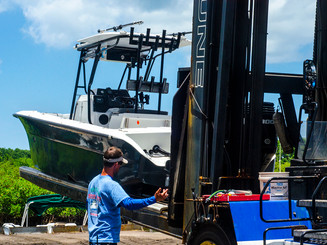 Dry Storage  332 Dry Storage Slips Two 25,000 lb. Capacity Forklifts Fuel, ice, remove/replace boat covers, engine flush, and exterior rinse Dry storage customers are eligible for unlimited in & out service, complimentary ice per trip, and fuel discounts.   Wet Storage  84 Wet Slips Concrete floating docks Shorepower Wi-Fi Water   Vertical Lift Storage  16 Lifts from 13,000 to 27,000 lb. capacity Shorepower Water
