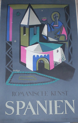 Spanien Romanische Kunst
