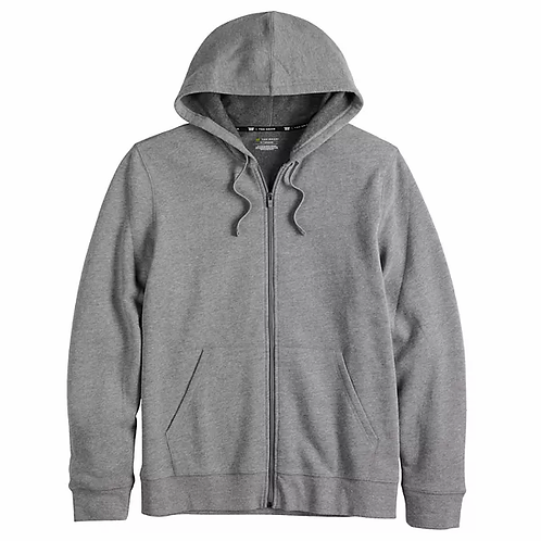Hooded Zip Front Sweatshirt, Unisex, Size 2X - 5X