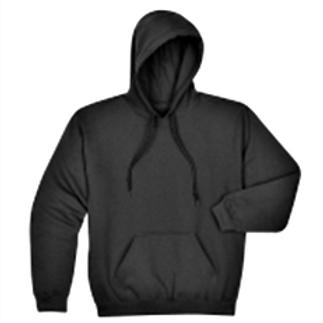 Pullover Hoodie Sweatshirt, Unisex, Size 2X - 5X