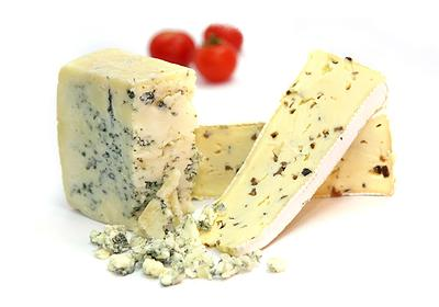 Blue Cheese with Tomatos