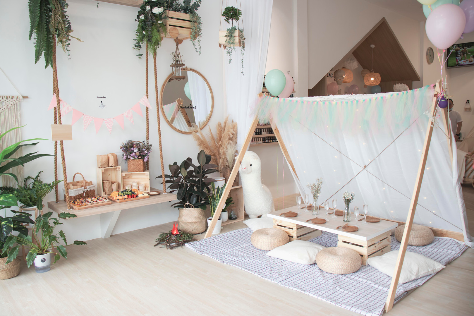 Luxury Glamping Kidz Sparty
