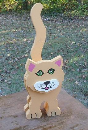 Domestic Cat Large Layered Pet Sitter
