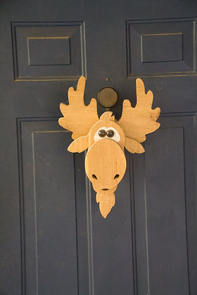 Cedar Moose Wreath Holder