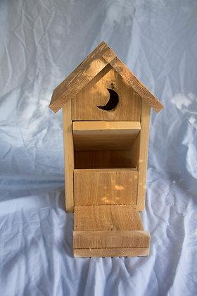 Cedar 'Outhouse' Squirrel Feeder