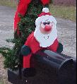 Santa Mailbox Sitter
