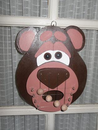 Bear Wooden Door 'Harp'