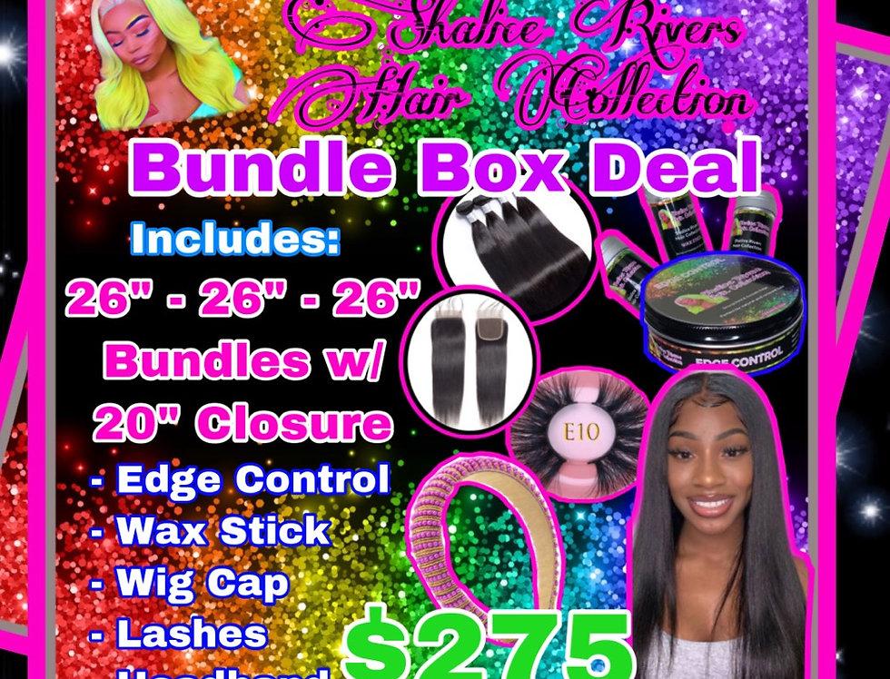 "26"" Straight Bundle Box Deal"