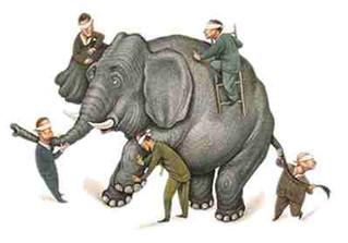 Os Cegos e o Elefante