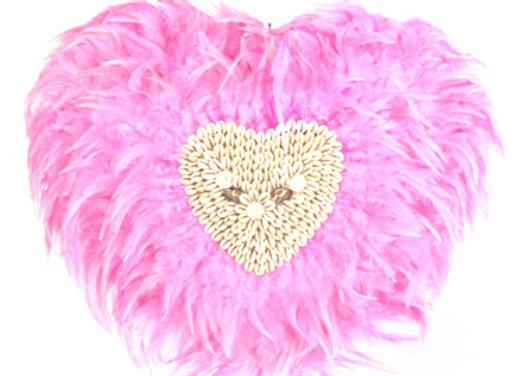 Pink heart juju