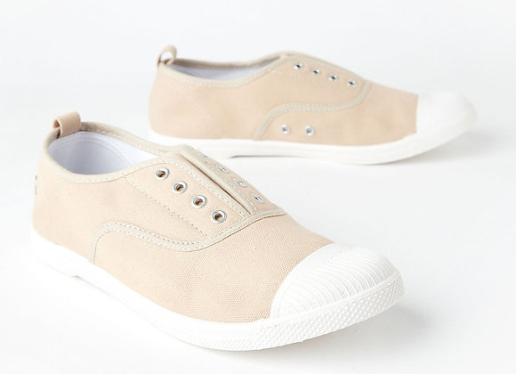Canvas Plimsole, sand