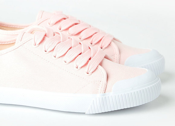 Empire Canvas Sneaker, Pale Pink