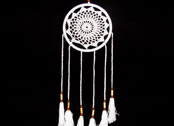 Dream catcher white 40x16