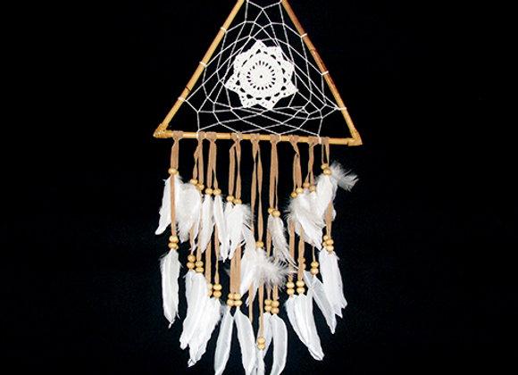 Dream Catcher Triangle Feather