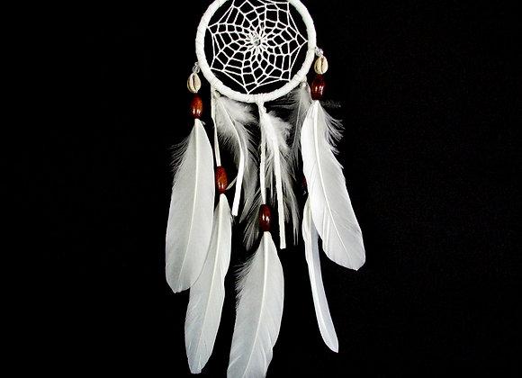 Dreamcatcher white net with ti