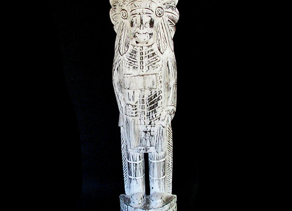 Indian Statue 50cm clear wash