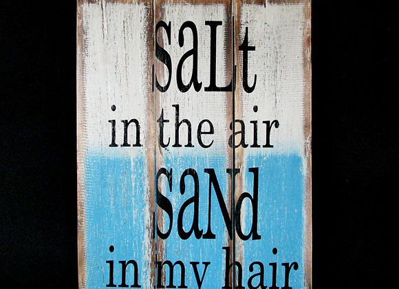 Wall plaque Salt in the Air