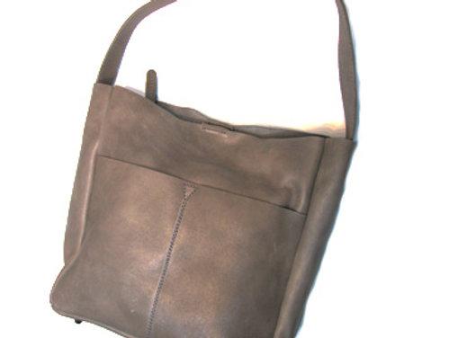 Leather Handbag, Shoulder Shopper tote