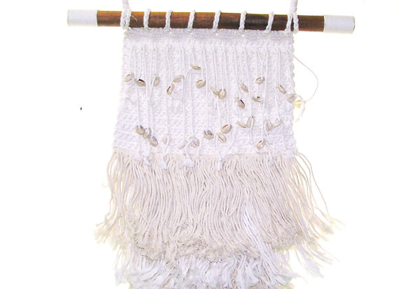 Macrame wall hanging two tone colour