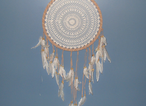 Dream Catcher with feather 38c