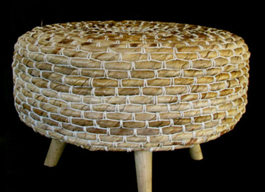 Abaca low stool