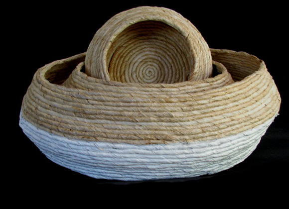 JAIT Abaca Basket Set of 3