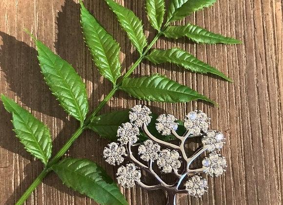 Equilibrium Jewellery - Tree Brooch