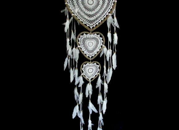 Dreamcatcher heart 42cm