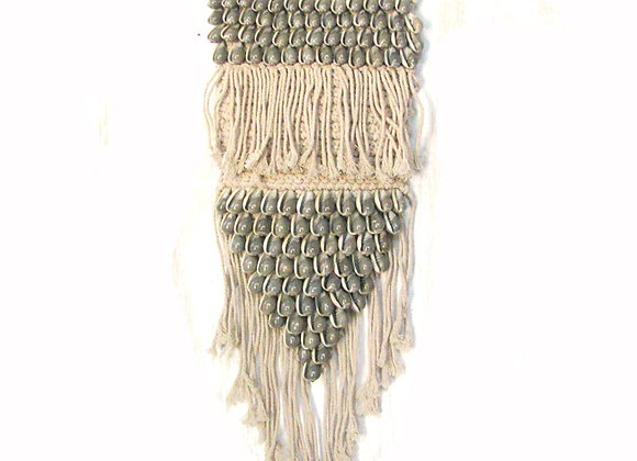 Macrame wall plaque small