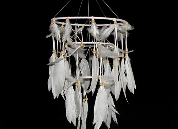 Dream Catcher, tiered hanging rings