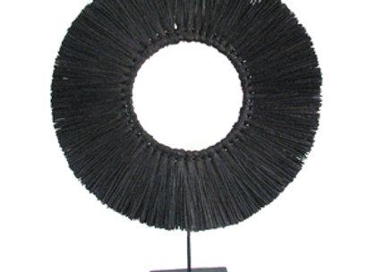 Rattan circle decoration