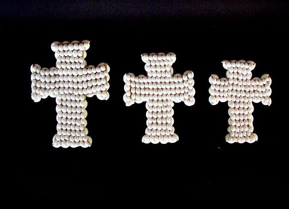 Shell Crucifix Set 3