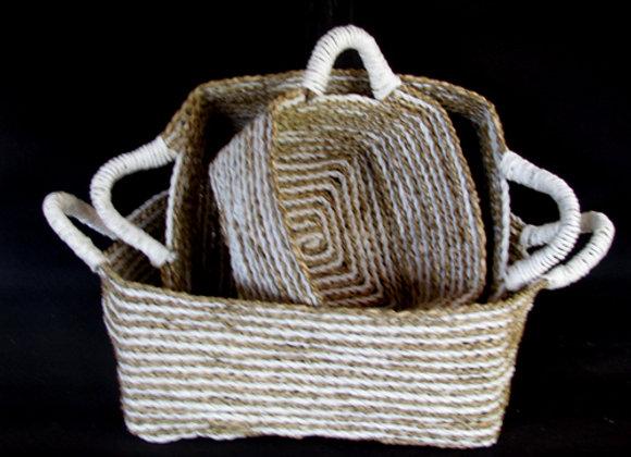 Seagrass Basket Set of 3