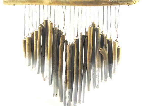 Heart Driftwood natural/white