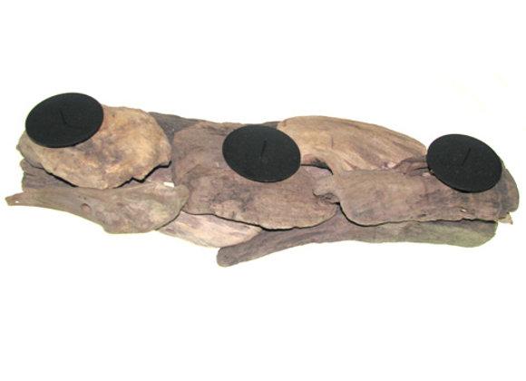 Candle holder driftwood