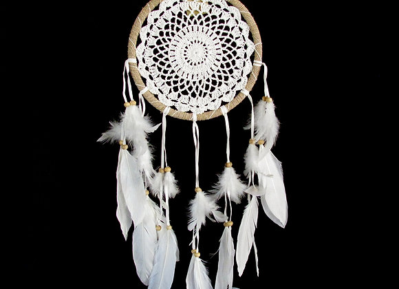 Dreamcatcher rope/feathers