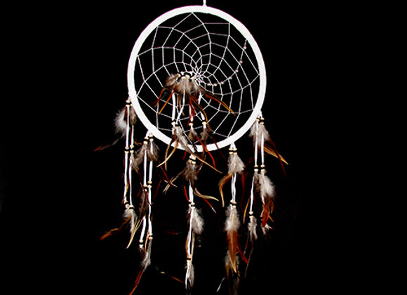 Dream Catcher with net silver