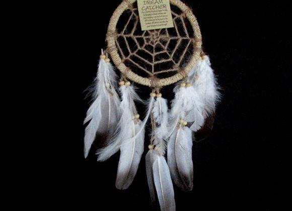Dreamcatcher net natural feath