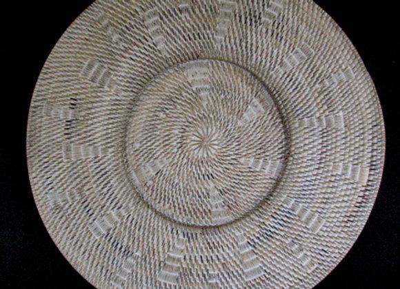 Rattan plate natural 60cm
